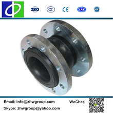 Competitive price MX601 DN500 stainless steel flange rubber expansion joint
