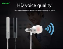 Kinvale newest style on-ear headphone,noice cancelling heaphone,earphone headphone with mic different color for gift