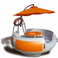 Electric Leisure BBQ Donut Boat for Sale China Supplier Water Play Equipment