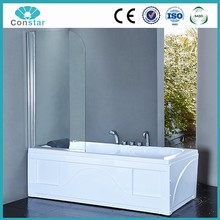 Folding Shower door,frameless shower screen