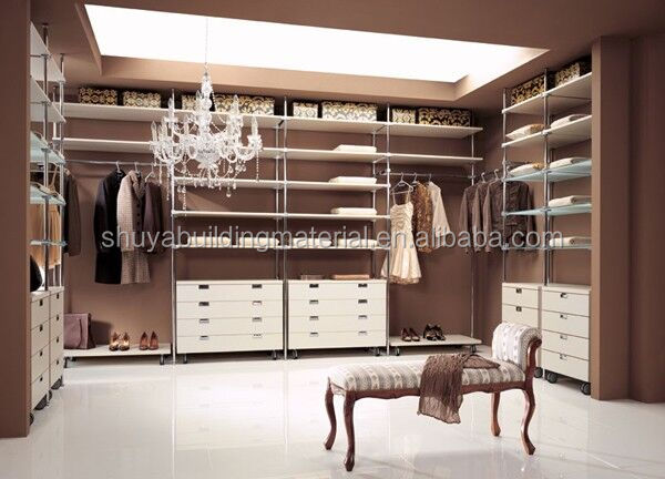 Hot Sale Modern European Style Walk In Closet Furniture