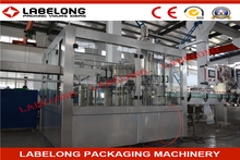 24 heads carbonated water packaging project/filling machine