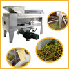 Commercial fresh grape de-stemmer and crusher