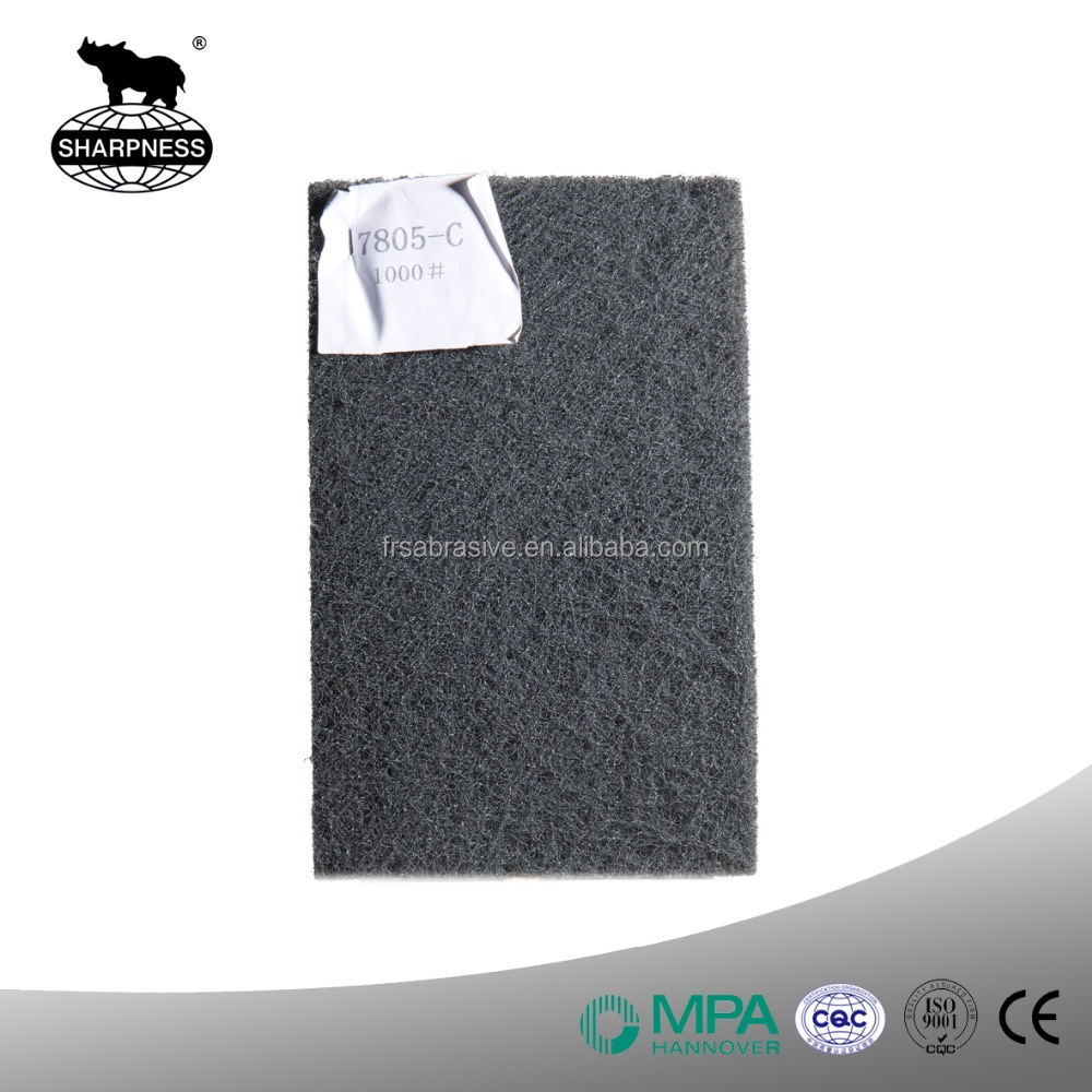 Sharpness Non-woven Abrasives 7805 For Precision Polishing And Cleaning Of Wood Plastic And Synthetic Materials