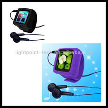 wholesale Manufacture wrist watch mp3 player with fm