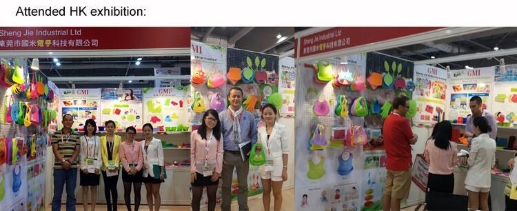 2017 de Alta qualidade Colorido projeto silcone bib do bebê à prova d' água a partir de Fabricação China