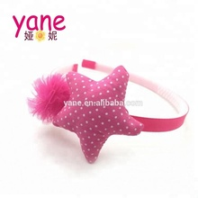 cute star fabric hair accessories and cheap popular for girls headbands