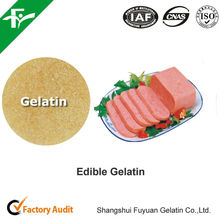 edible gelatin for canned meat products, natural food binders