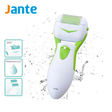 JANTE New Year Gift Plastic Foot File Callus Remover Professional Pedicure Foot Sander