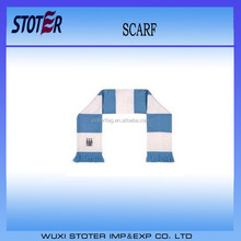 Polyester customized digital printing fan scarf