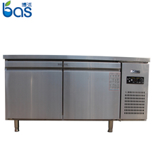 500L Kitchen Work Bench frozen island cold aht freezer shelving frost free refrigerated kitchen work table of poats