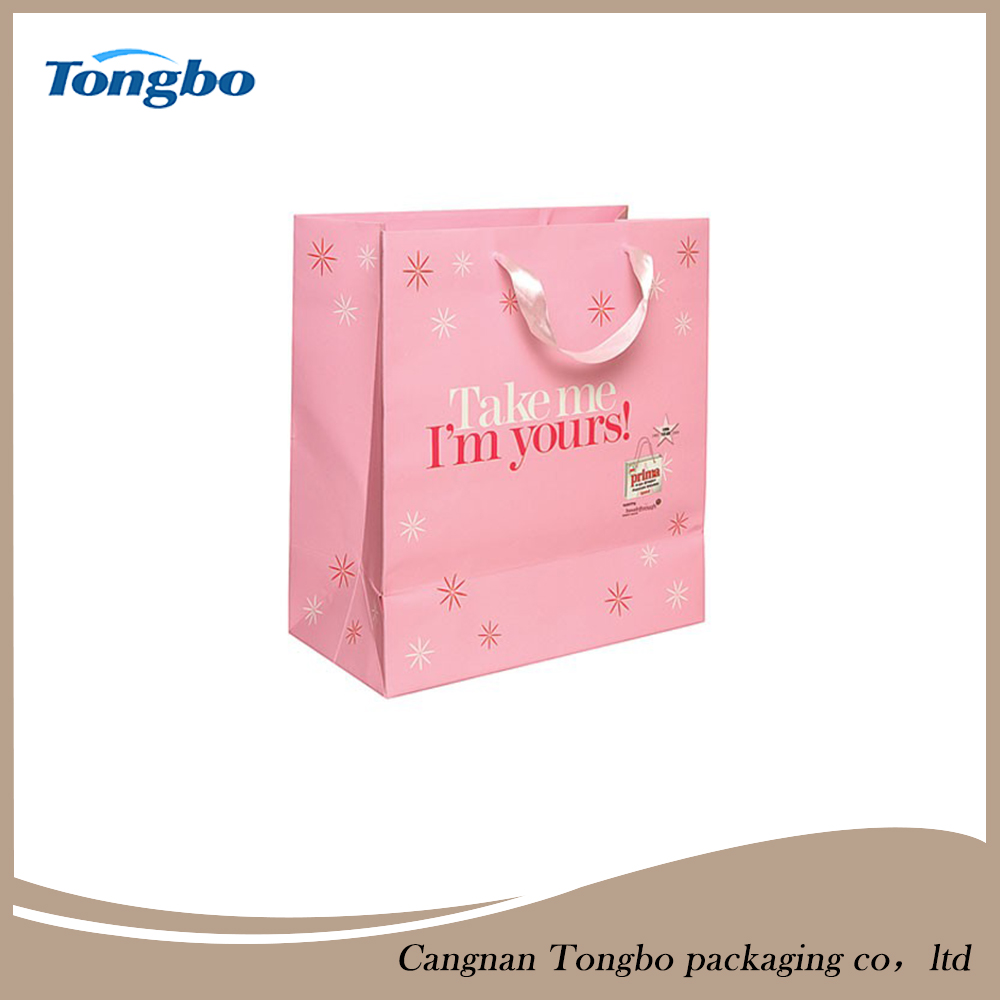 Hot China Products Wholesale Decorative Gift Paper Bags