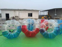 Funtoys CE giant roll inside inflatable ball bubble football for sale