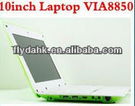 cheap 10 inch Mini Netbook via8850 Laptops android4.0