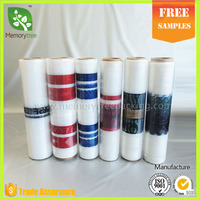 2016 cheap recycle plastic stretch roll film jumbo