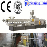 Aluminum Bottle Making Machine With Twin screw For Plastic Extrusion