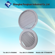 ABS Round Air Louver, Plastic Ceiling Air Vent Air Conditioner Plastic Vent