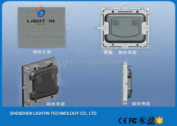 High Resolution 5mm Indoor LED Panel Full Color Indoor Rental Die-casting Aluminum Cabinet