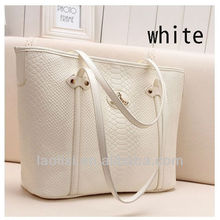 2013 newest pu women handbag ladies beach bags