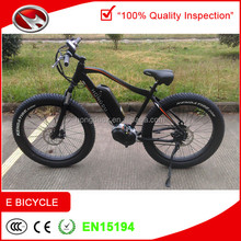 Good performace fat tire electric bike with 8FUN mid motor for sale