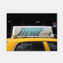 taxi top billboard advertising light box