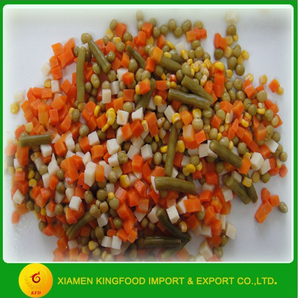 factory manufacturer canned mixed vegetable 425g