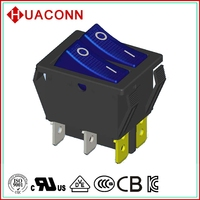 HS9-B-04K0L2-BL03 bottom price manufacture running machine with lamp rocker switch