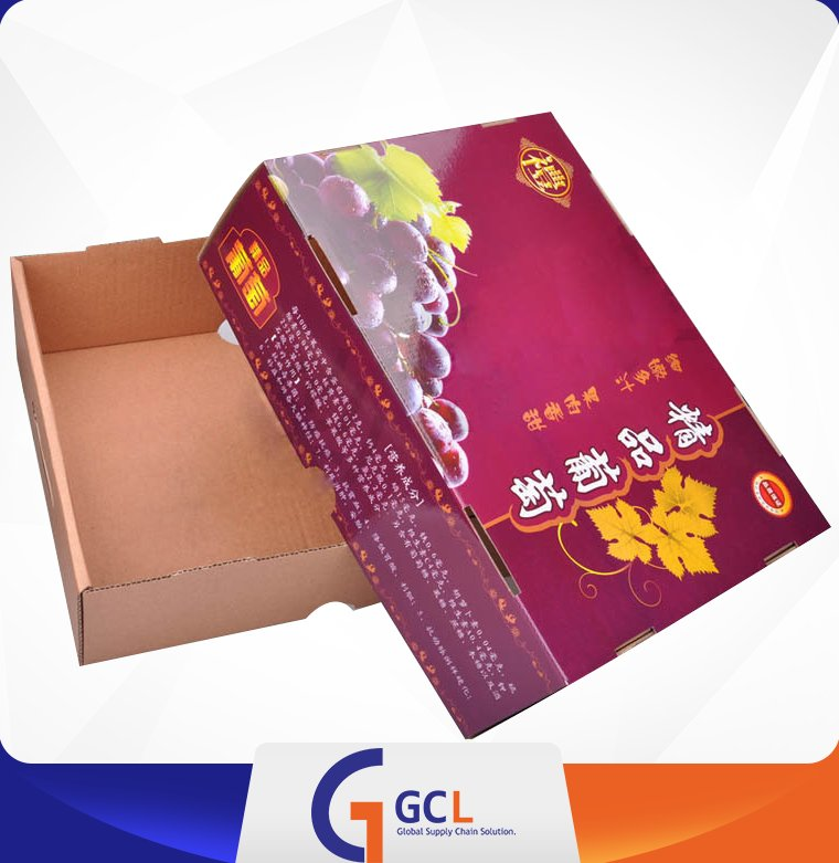 corrugated paper box banana carton box for shipping