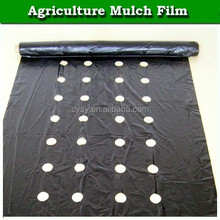reflective polyethylene black/silver plastic rolls/black mulching film for agriculture