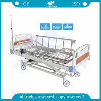 AG-BM106 healthcare three function electric adjustable hospital 3 crank bed
