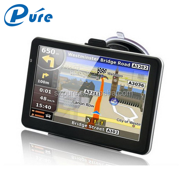 7 Inch TFT Touch Screen GPS Tracker 128M Ram Waterproof Bluetooth GPS Tracking System Apply To Moto/Car/Bike