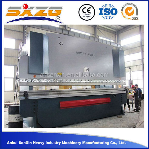 Heave equipment ISO&CE certification hydraulic press brake machine , cheap used brake press price