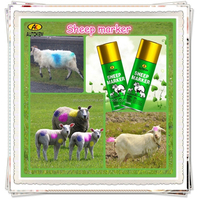 Autokem 400ml hot sale sheep marker, goat/ram/lamb marker paint, inverted livestock/animal marking spray paint