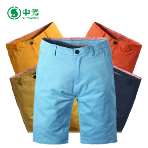 Hot Sale Summer Casual Twill Cotton Spandex Half Shorts Fabric For Garment