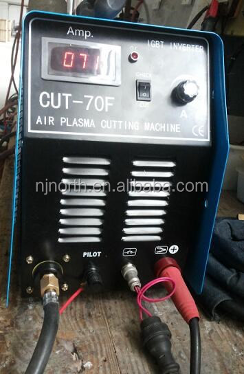 new IGBT module or IGBT tube plasma cutting machine CUT70F,inverter dc pilot arc cutitng machine plasma for plasma cutting