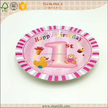 Paper plate for projects kids party decoration