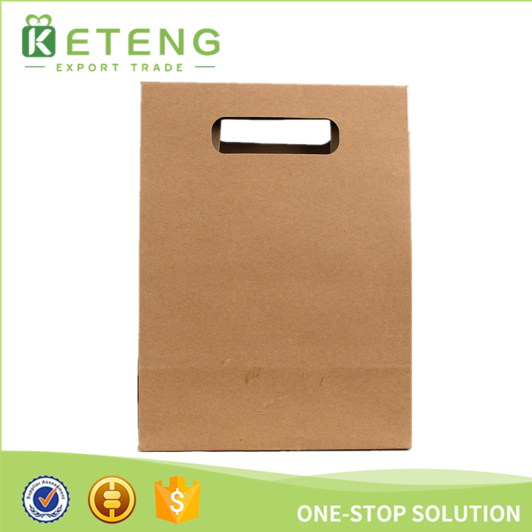 Durable Designer Shopping Paper Bags With Die-cut Handle