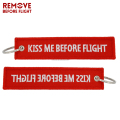 embroidered keychain/key tag/keyring alpha jet/remove before flight,embroidered keychain/key tag/keyring alpha jet/remove before