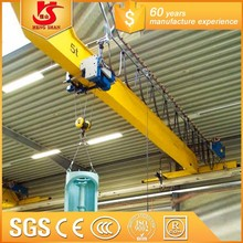 Best price 10 tons single hook overhead crane to crane