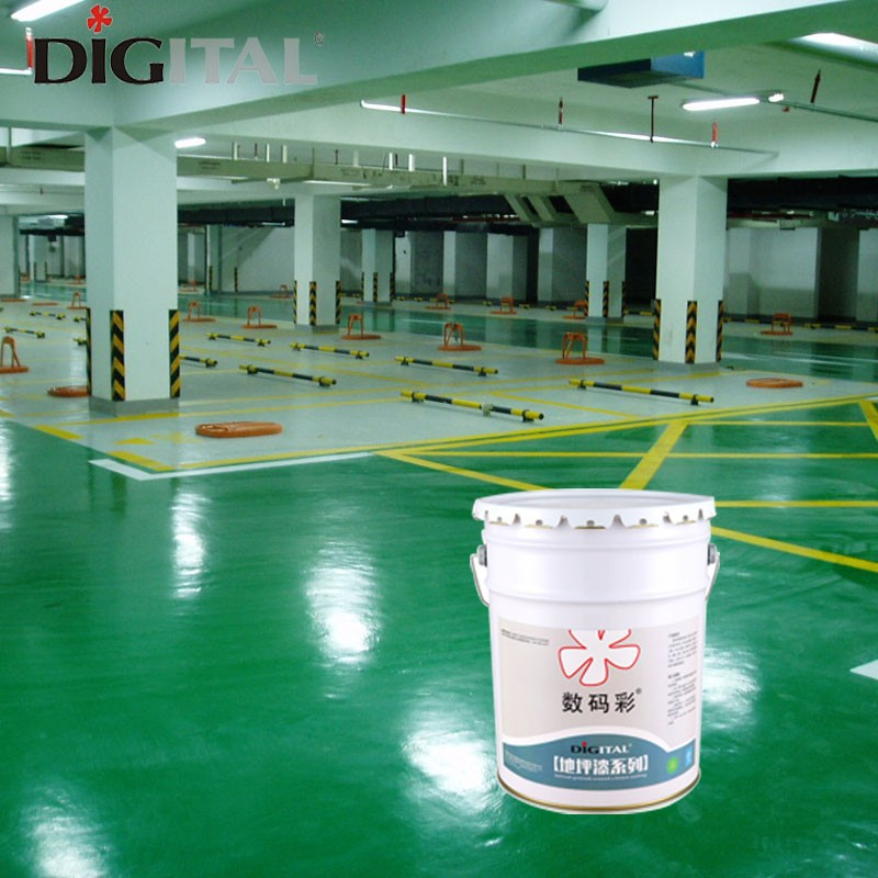 Dust proof epoxy floor finish coating for warehouse