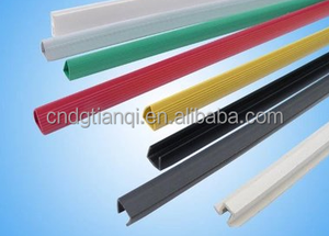 Office stationery I shape a4 size paper file holder/document PVC plastic clips for file