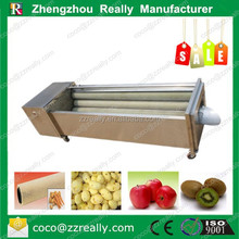 Root vegetable washing machine/carrot peeling machine/commercial potato peeler machine