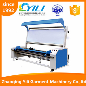 guangdong product woven fabric cloth rewinder counting machine
