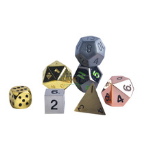 Metal Multi sides Custom Game Dices