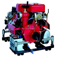 Portable Diesel Portable Fire Pump with Engine