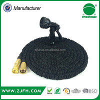 2016 high quality manufacturing water quick connector expandable garden hose with splitter