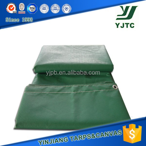 green color heavy duty waterproof canvas tarpaulin sizes