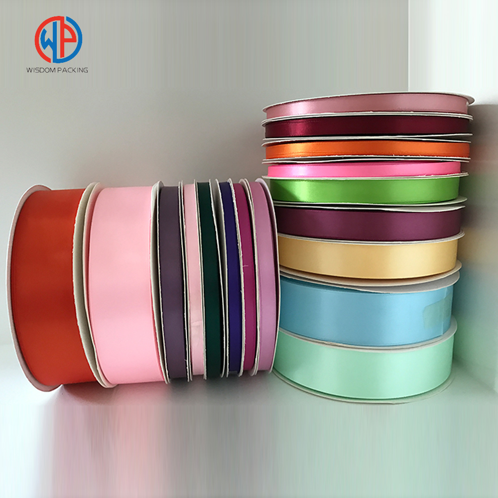 Wholesale Printed Polyester Satin Ribbon Roll
