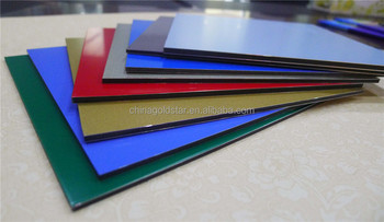 Unique color PVDF coated Aluminium Composite Panels