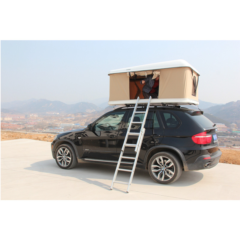 For Car Camping 4WD Offroad Hard shell Roof Top tent with side awning,China wholesale